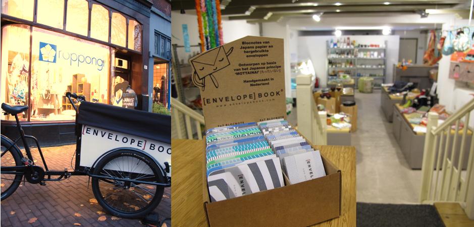 EnvelopeBook bij Roppongi Amsterdam