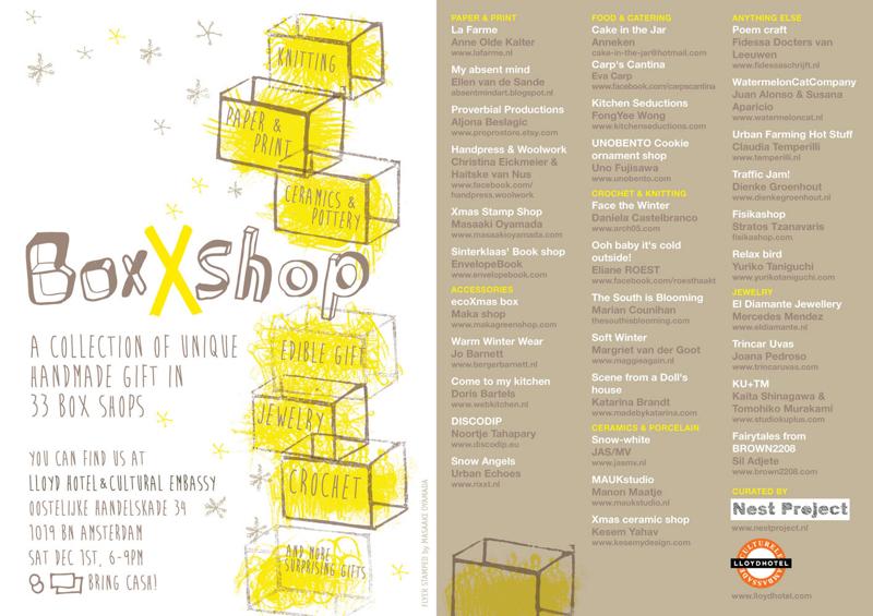 EnvelopeBook bij BoxXshop 2012 Lloyd Hotel