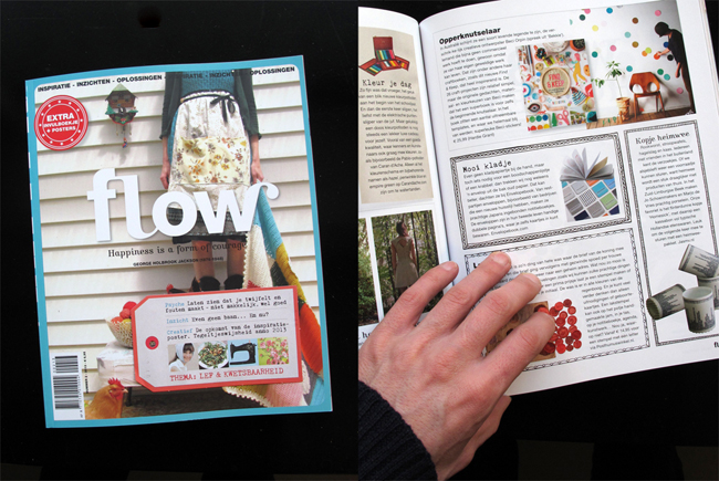 EnvelopeBook in FLOW Magazine