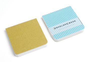 EnvelopeBook 7x7 Blocnote