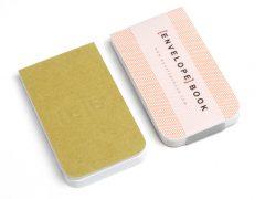 EnvelopeBook envelope book duurzame blocnotes hergebruik papier enveloppen cadeautje voor haar