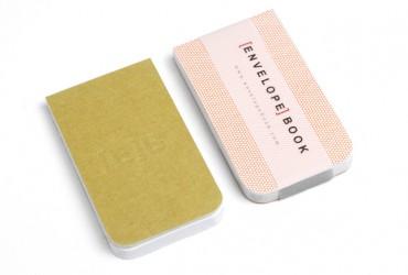 EnvelopeBook 4x7 Blocnote