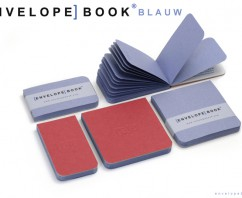 EnvelopeBook BLAUW Limited Edition