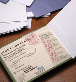 EnvelopeBook SpaarRecycle