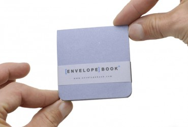 EnvelopeBook 7x7 Blocnote Blauw Editie