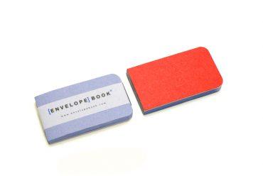EnvelopeBook 4x7 Blocnote Blauw Editie