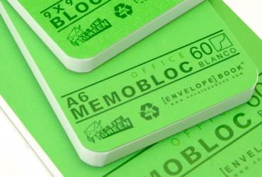 Memo Blocnotes EnvelopeBook envelope book - duurzame kantoorartikelen kantoorpapier kladblok