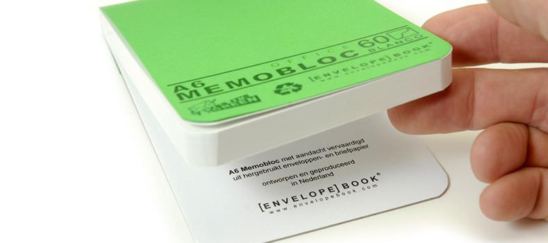 EnvelopeBook duurzame kantoorartikelen