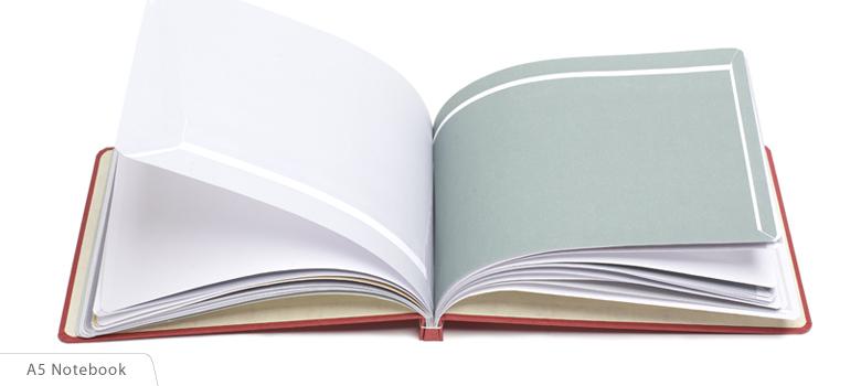 EnvelopeBook envelope book A5 notebook notitieboekje cadeautje voor hem