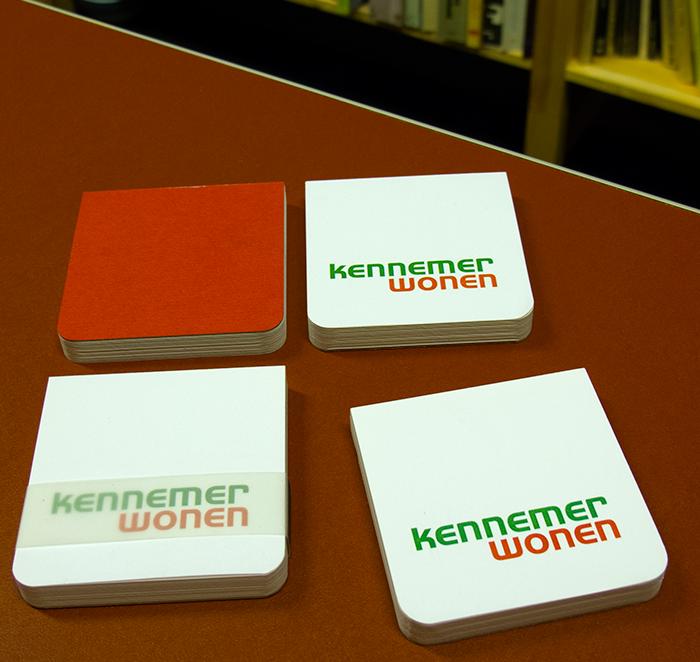 EnvelopeBook 7x7 Blocnote Kennemer Wonen