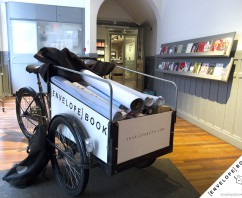 Frascati Theater recyclet enveloppen met EnvelopeBook