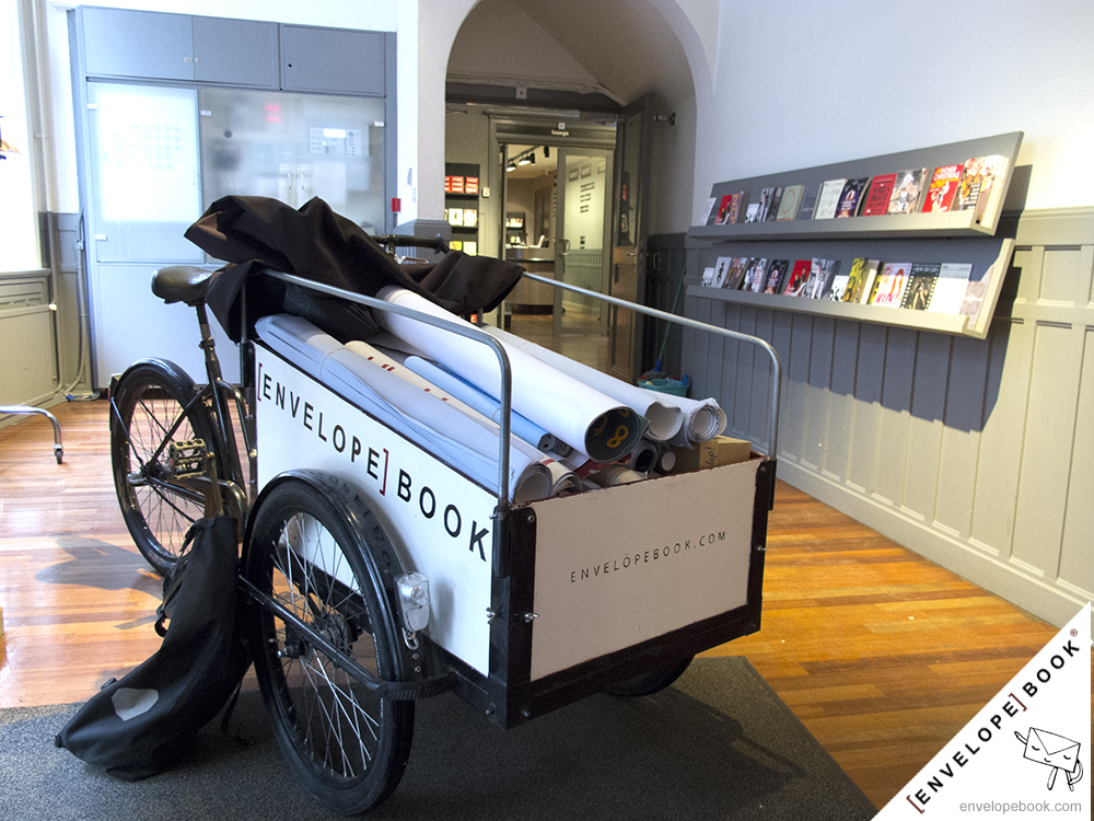 Frascati Theater Amsterdam recyclet enveloppen met EnvelopeBook