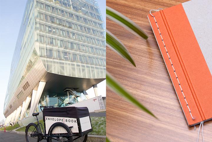 Envelope Book nationale nederlanden NN Group hergebruikt papier notitieboekje