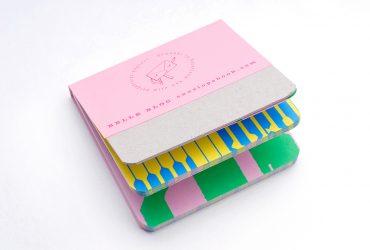 9x9 Belle schrijfblok hergebruikt papier kladblok