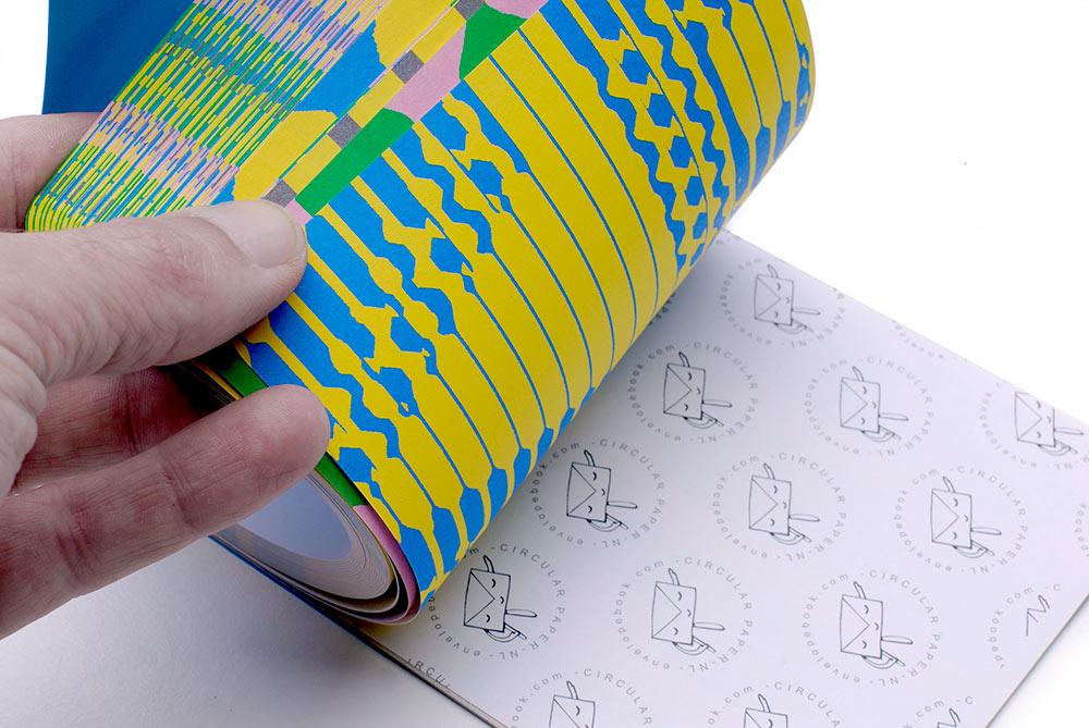 A5 Belle schrijfblok hergebruikt papier kladblok