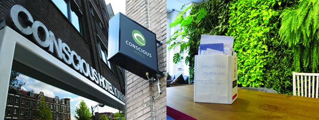 Conscious Hotels werkt samen met EnvelopeBook